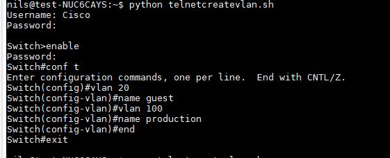 Using python and telnet – Networks and rants